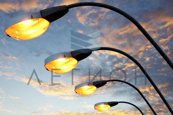 Расстояние между опорами уличного освещения